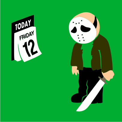 friday the 12th kelly green