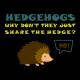 Hedgehogs black