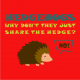 Hedgehogs red