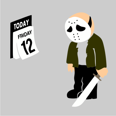 friday the 12th grey