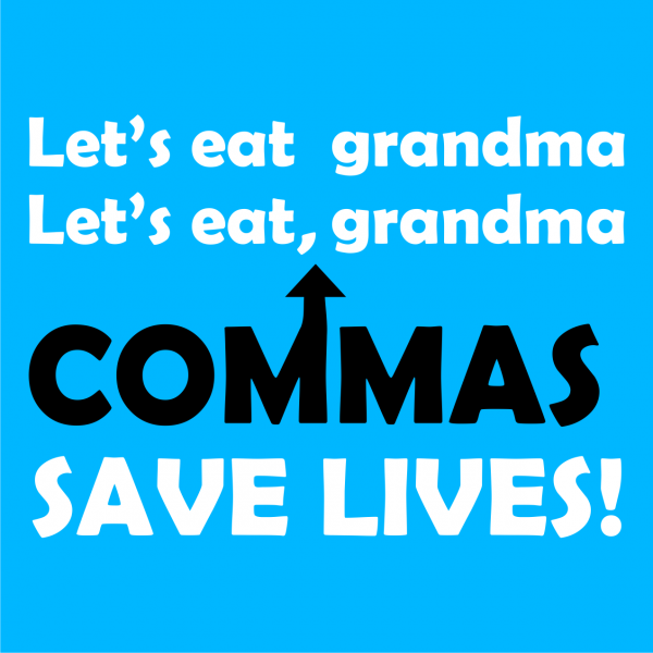 lets eat grandma azure blue