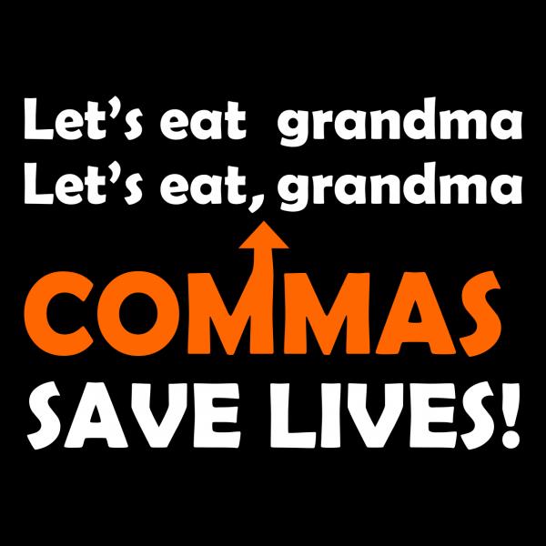 lets eat grandma black