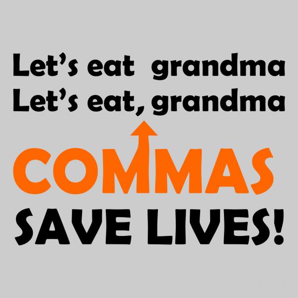 lets eat grandma grey