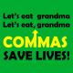 lets eat grandma kelly green