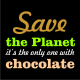 save the planet black