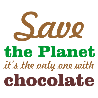 save the planet white