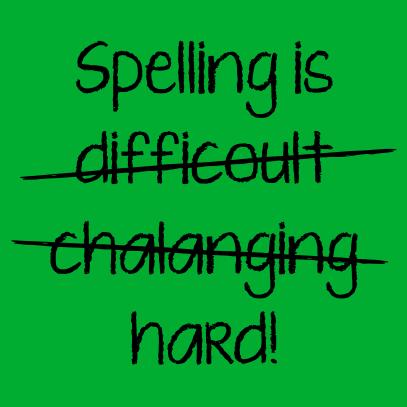spelling is kelly green