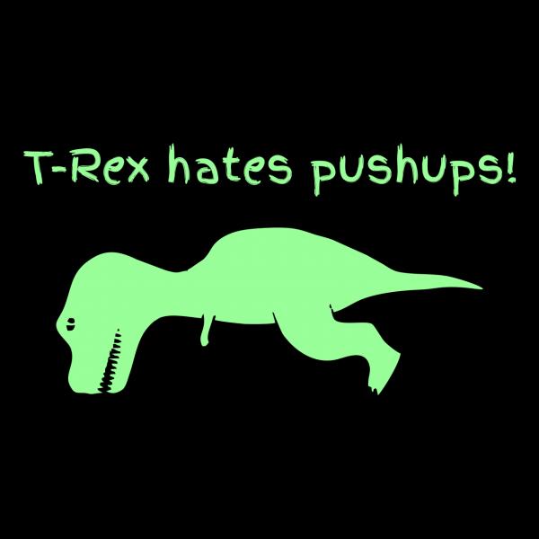 t rex hates black