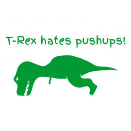 t rex hates white