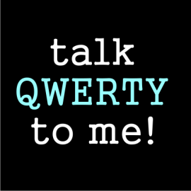 talk qwerty black