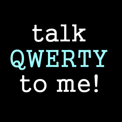 talk qwerty black