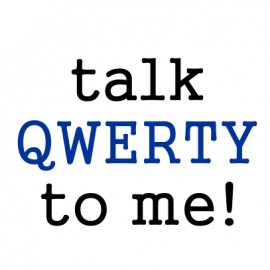 talk qwerty white