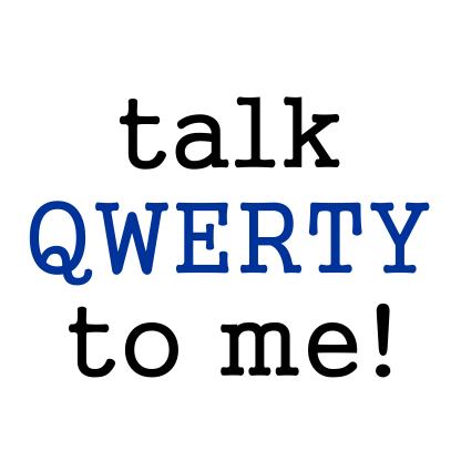 talk qwerty white