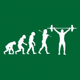 weightlifting evolution bottle green