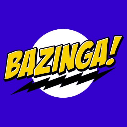 bazinga royal blue