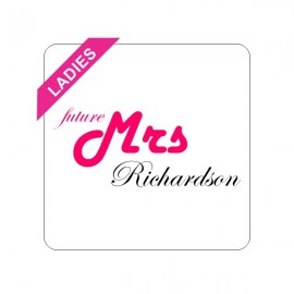 future mrs CUSTOMIZED bachelorette t-shirt main