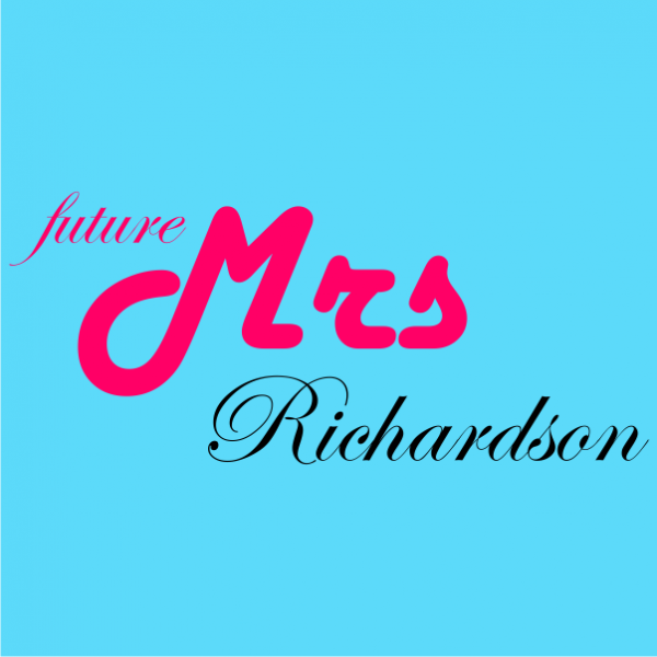 future mrs customized bachelorette t-shirt sky blue
