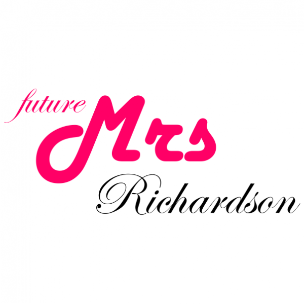 future mrs customized bachelorette t-shirt white
