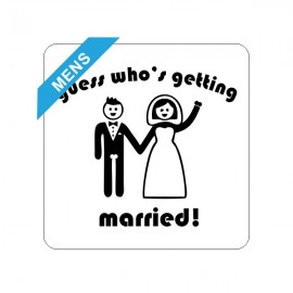 guess whos getting married t-shirt main