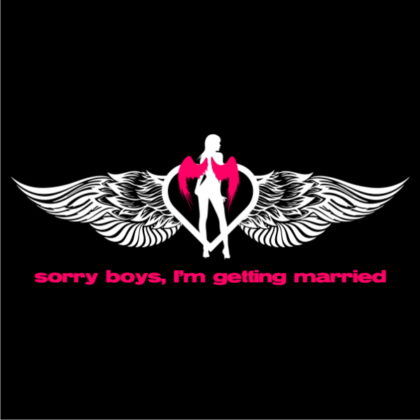 sorry boys bachelorette t-shirt black