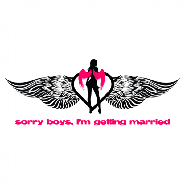 sorry boys bachelorette t-shirt white