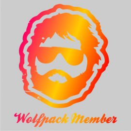 wolfpack member bachelor t-shirt grey
