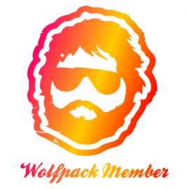 wolfpack member bachelor t-shirt white