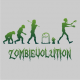 zombievolution halloween t-shirt grey