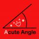 acute angle red