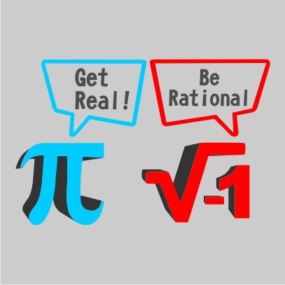 get real be rational grey