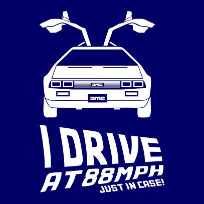 i drive at 88mph navy