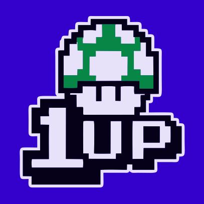 1UP royal blue