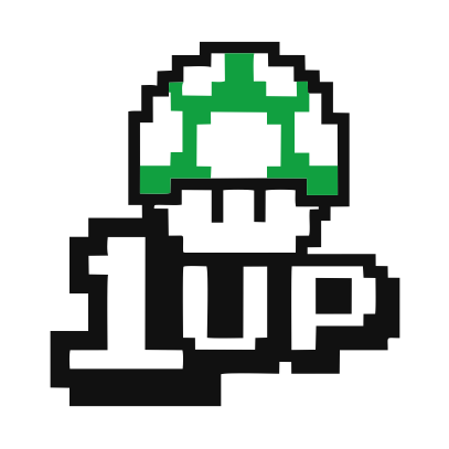 1UP white
