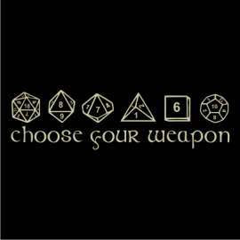 choose your weapon black