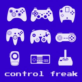control freak royal blue