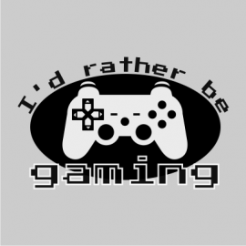 id rather be gaming grey