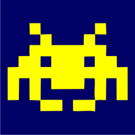 space invaders navy