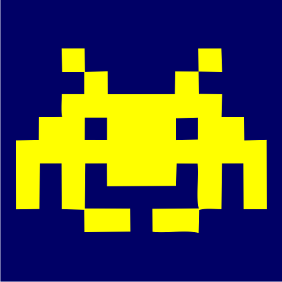 space invaders navy