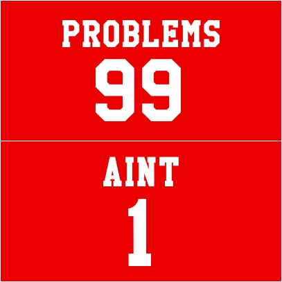 99 problems red