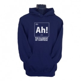 ah the element of surprise hoodie navy