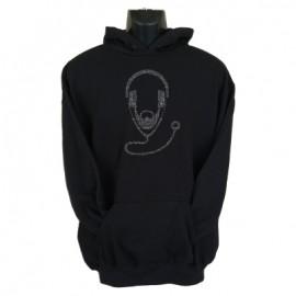 dr dj hoodie black