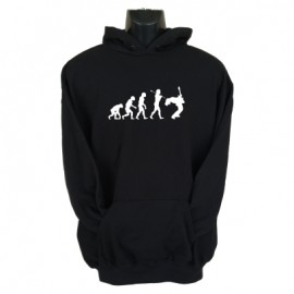 guitar evolution hoodie black