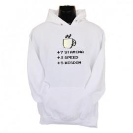 stamina speed wisdom hoodie white