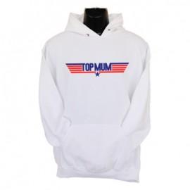 topmum hoodie white