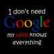 i dont need google black