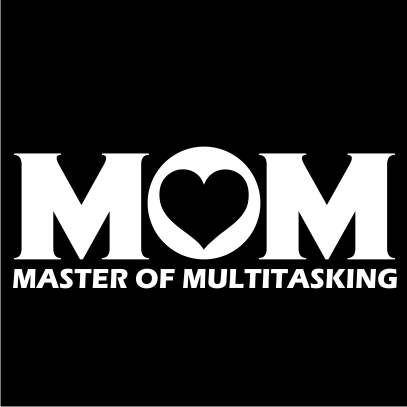 Multitasking Mom black