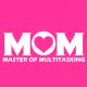 Multitasking Mom fuchsia