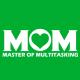 Multitasking Mom kelly green