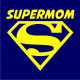 Supermom on navy