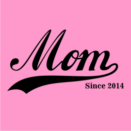 mom since light pink